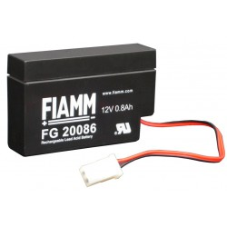 Confez. 20 Batterie 12 V 0,8 Ah