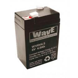 Batteria 6V 4.5A/h
