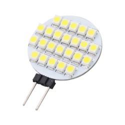 Lampada LED 24 SMD 3528 attacco G4 - 12V