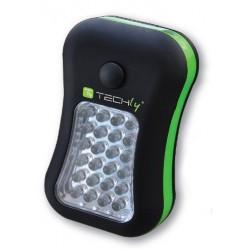 Lampada 24 + 4 LED con Gancio e Magnete