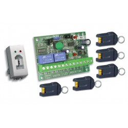 ART. 230217 - Kit chiave elettronica mod. SK103NLB-5K