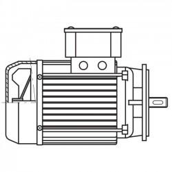 ART. 690450 - Motore elettrico monofase da 1CV per MEC 200