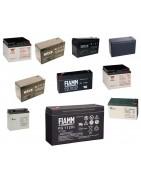 Batterie sigillate al piombo per sistemi di allarme